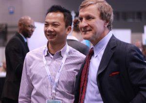 2014美國整形外科醫學會 與整外大師Dr. Rohrich 合影
